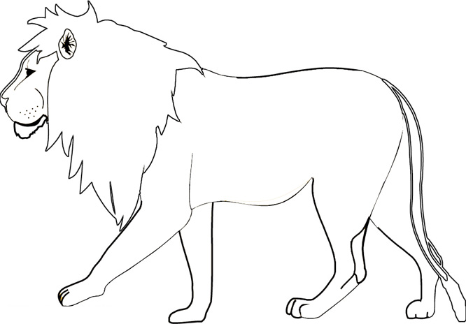 Lion pages to print out coloring pages for Lion color pages