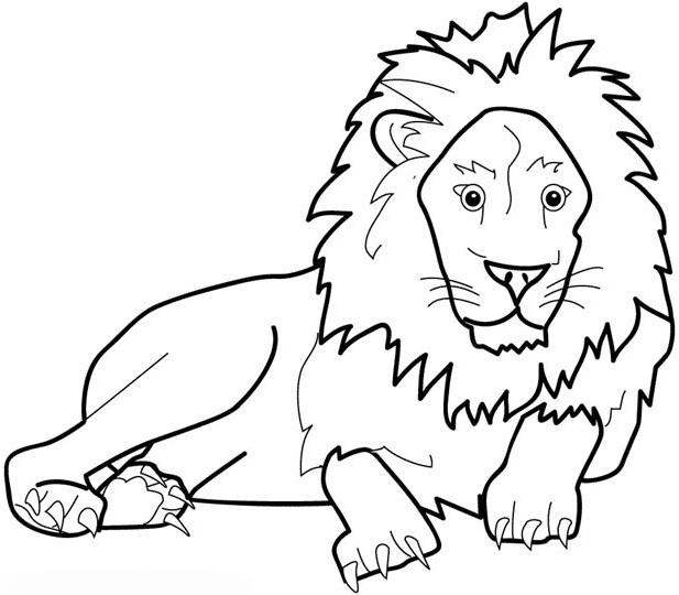 Printable Lion Coloring Pages Coloringme Com Free printable sitting bunny pattern. printable lion coloring pages