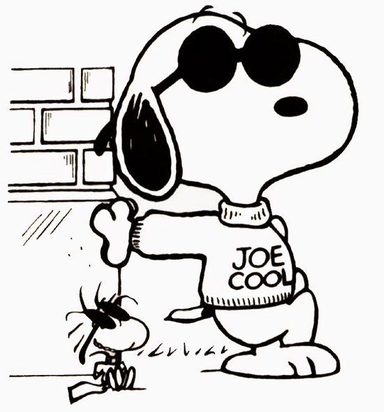 coloring pages of snoopy