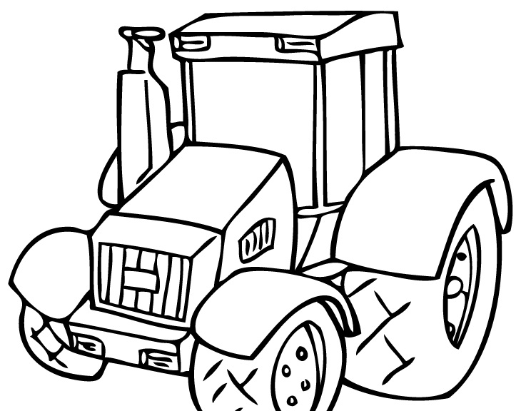 Johnny tractor coloring pages coloring pages for Tractor coloring pages to print