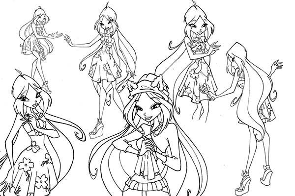 Coloring Pages Of Winx Club