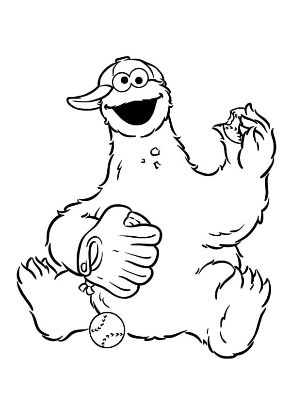 Farm Animal Chicken Coloring Page - Animated Bird Eating ...