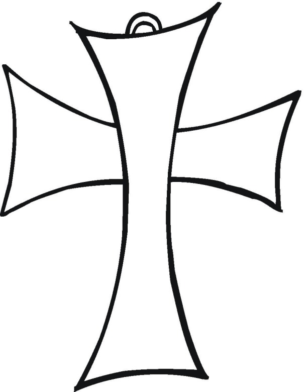 Printable Cross Coloring Pages Coloringme Com