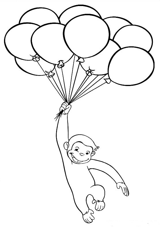 curious coloring pages - photo#26