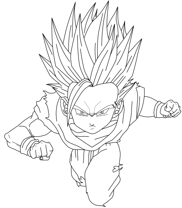 dragon ball z dende coloring page h m pages