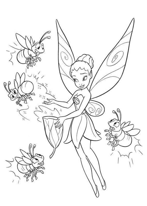 Fawn Fairy Coloring Pages Disney | Coloring Pages