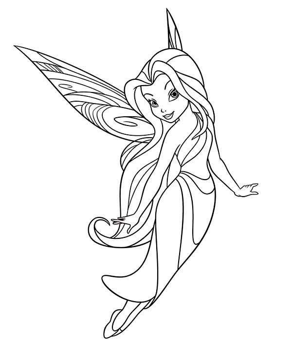 Disney Vidia The Fairy Coloring Pages | Dibujos, Dibujos para ... | 705x600