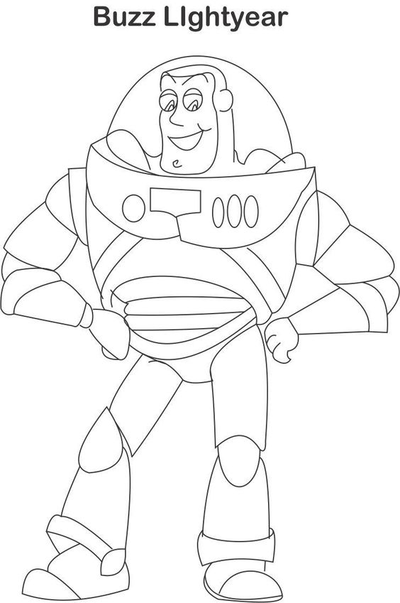 Printable Buzz Lightyear Coloring Pages Coloring Me Buzz Colouring Pages
