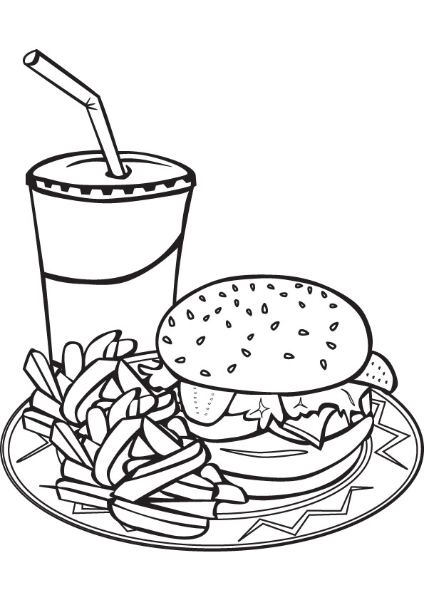 - Printable Food Coloring Pages ColoringMe.com