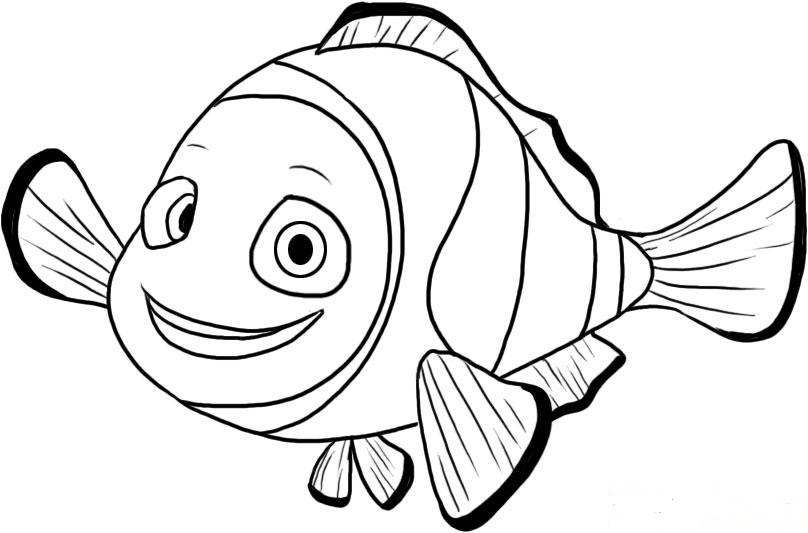 nemo coloring pages - photo#15