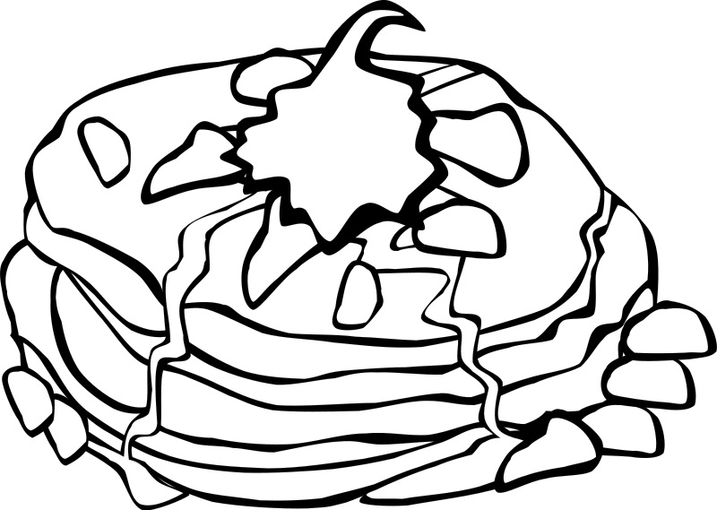 Printable Food Coloring Pages Me