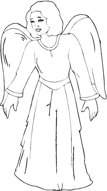 fairy angel. angel coloring pages getcoloringpages. angel ...