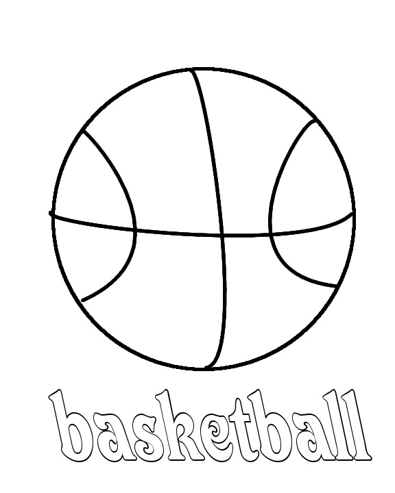 Basketball free printable coloring pages basketball best for Printable basketball coloring pages