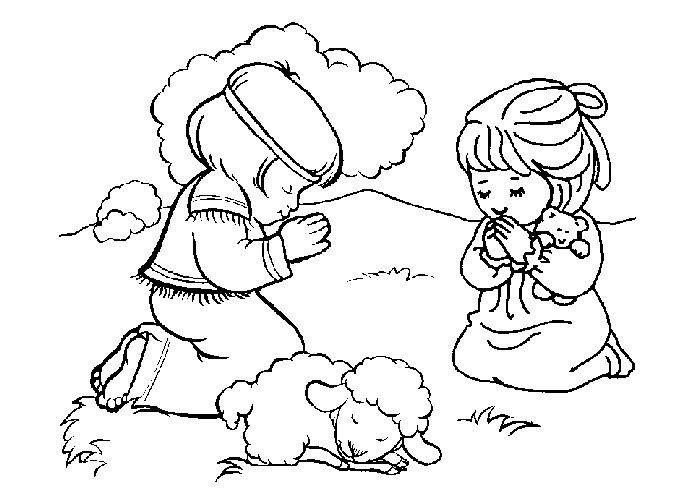 Free Printable Bible Coloring Pages For Preschoolers