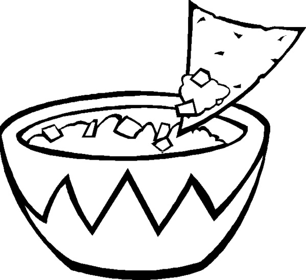 free food coloring pages - photo#30