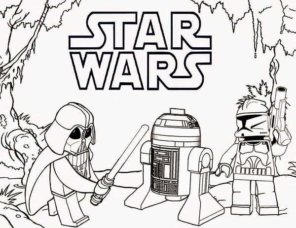 Printable Lego Star Wars Coloring Pages | Coloring Me