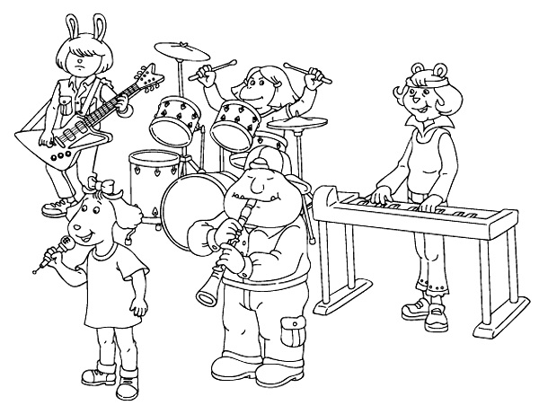 Printable Music Coloring Pages | Coloring Me
