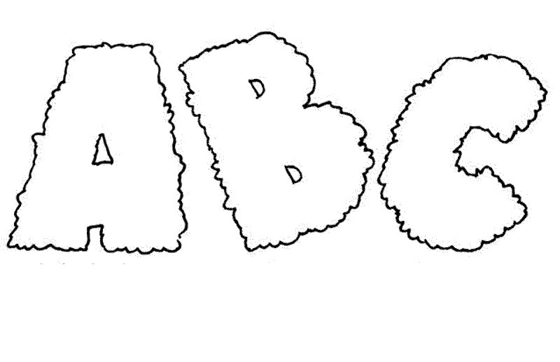 Printable Abc Coloring Sheets : Printable abc coloring pages me