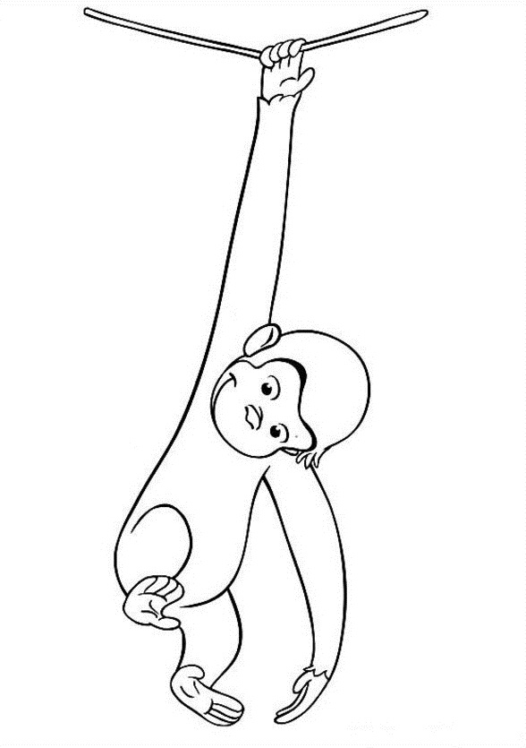 Curious George Coloring Sheets