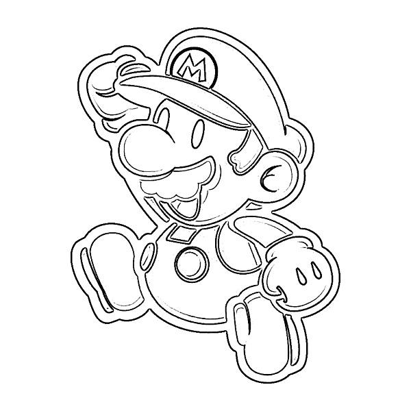 Printable Super Mario Coloring Pages | Coloring Me