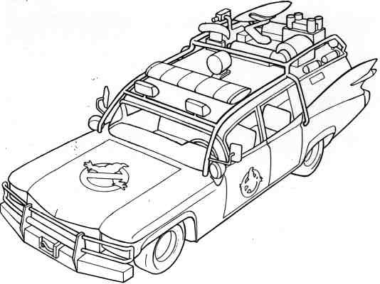 lego ghostbusters coloring pages - photo#26