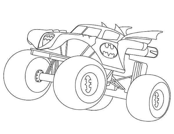Monster truck coloring pages grave digger coloring page for Grave coloring pages