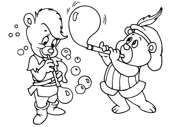 gummy bear coloring pages print - photo#25
