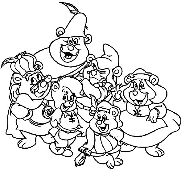 Printable Gummy Bear Coloring Pages | Coloring Me