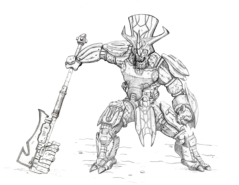 Halo Reach Coloring Pages Images