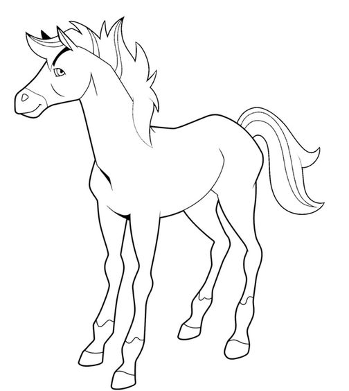 Printable Horseland Coloring Pages | Coloring Me