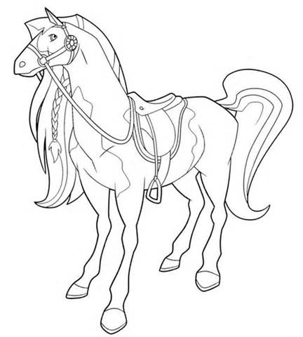 printable horseland coloring pages me