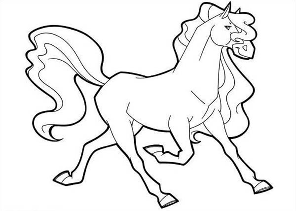 Printable Horseland Coloring Pages