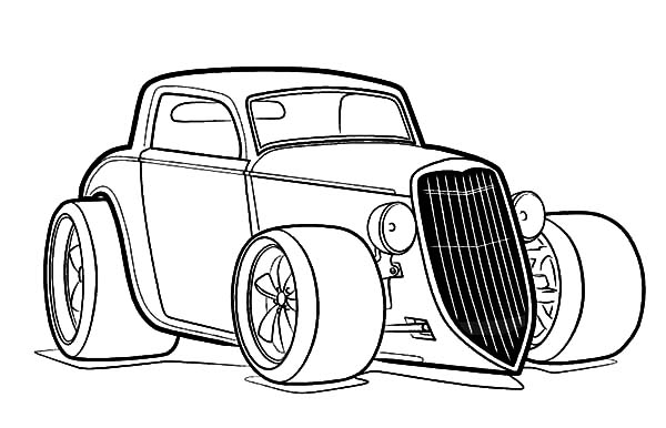 Rat Fink Coloring Pages Coloring