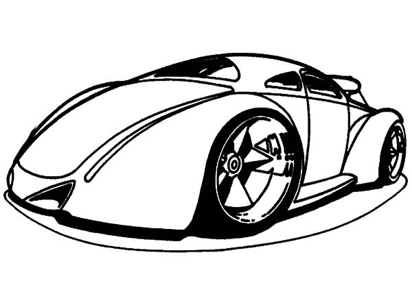 Hot Wheels Coloring Pages - GetColoringPages.com | 410x600