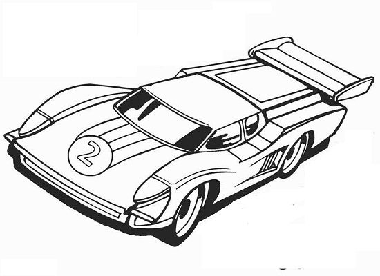Printable Hot Wheels Coloring Pages