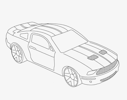 Printable Hot Wheels Coloring Pages | Coloring Me