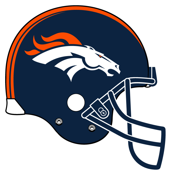 images of denver broncos coloring pages
