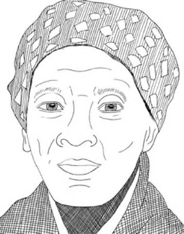 Printable Harriet Tubman Coloring Pages | Coloring Me