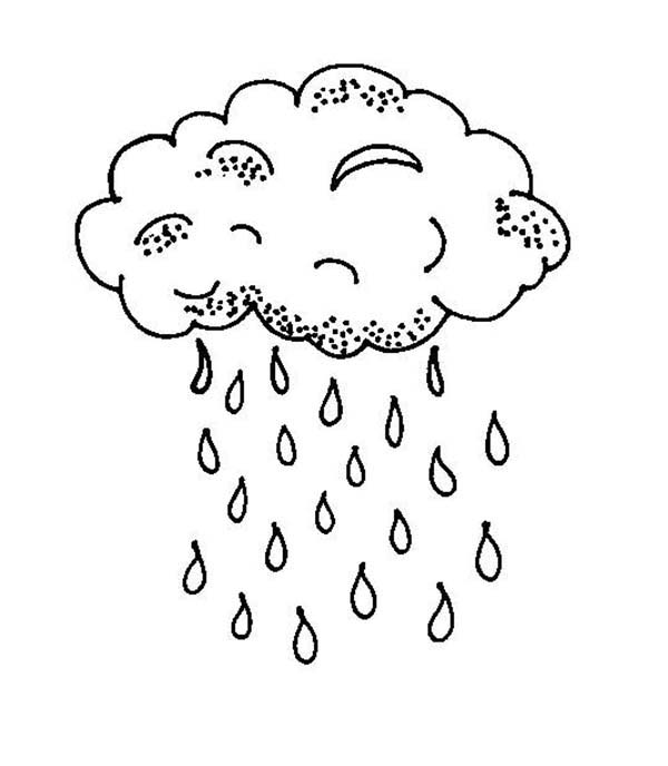 Printable Raindrop Coloring Pages Coloringme Com
