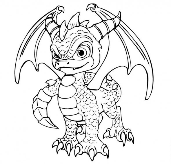 images of skylander giants coloring page - Coloring Pages Skylanders
