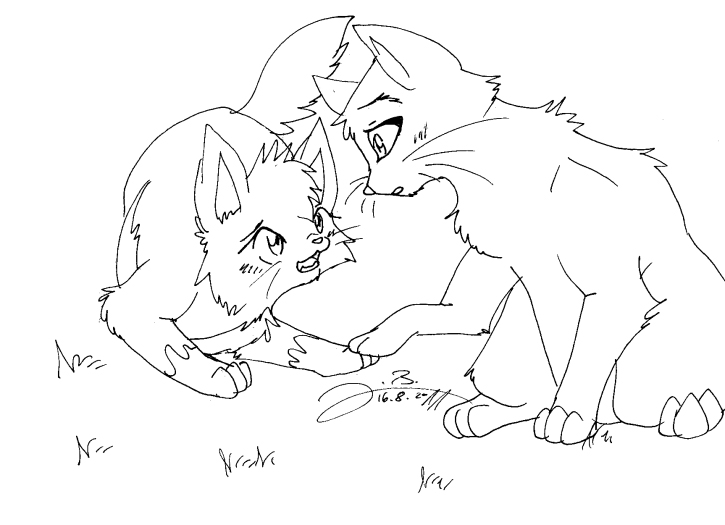 Warrior Cats Clan Coloring Pages Coloring Pages