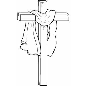 twelfth station of the cross coloring page easter cross cross
