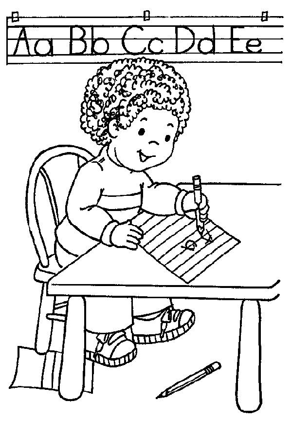 Learning Coloring Pages For Preschool