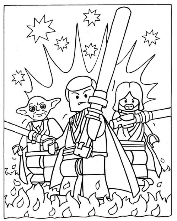 Printable Lego Star Wars Coloring Pages | ColoringMe.com