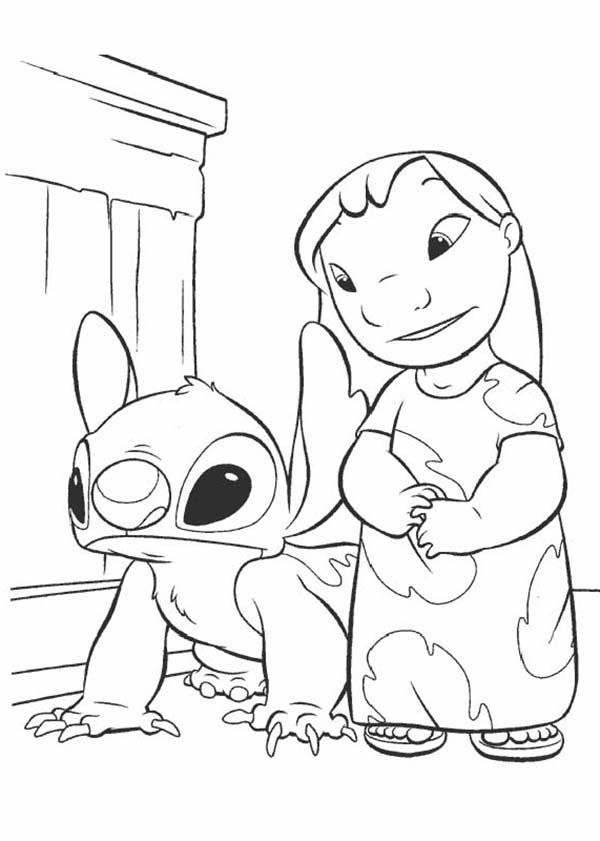 Lilo and sch coloring book murderthestout for Lilo and stitch coloring pages