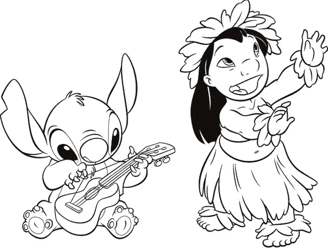 Printable Lilo And Stitch Coloring Pages Coloringme Com