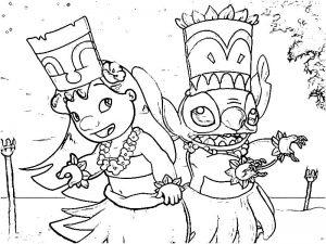 Free Lilo And Stitch Coloring Book, Download Free Clip Art, Free ... | 225x300