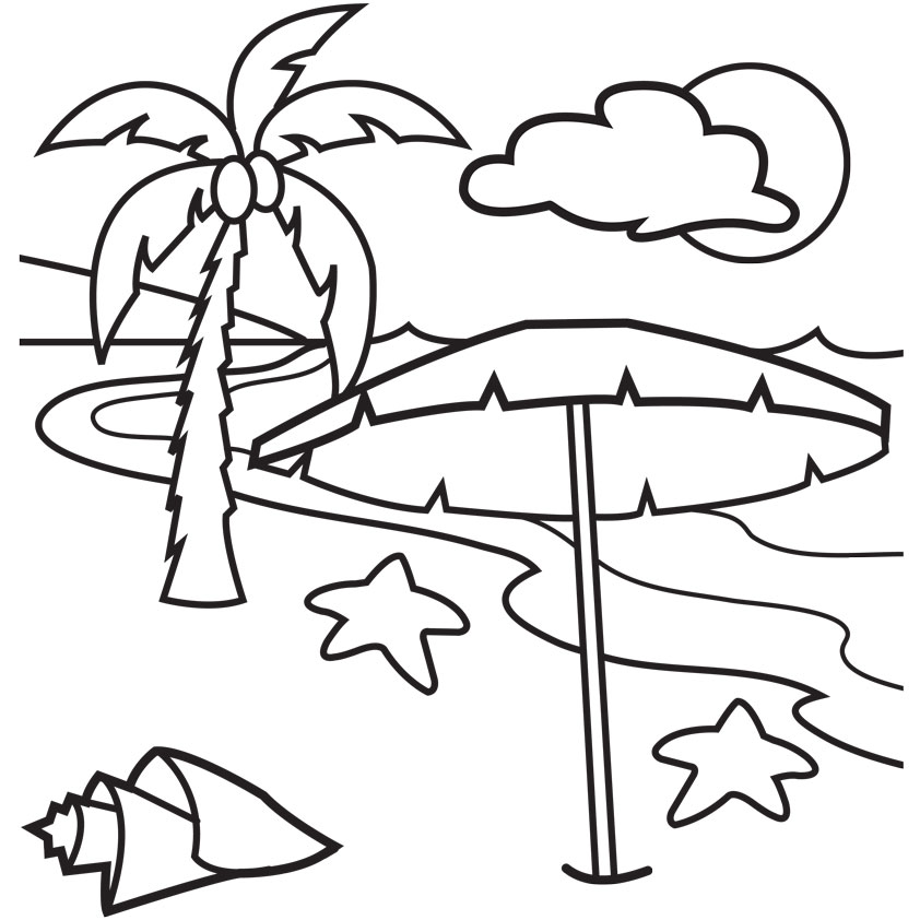 Stunning Palm Tree Coloring Pages Print Pictures Coloring Page