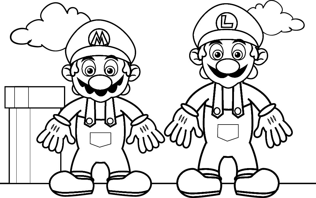 printable mario kart coloring pages - Color Pages