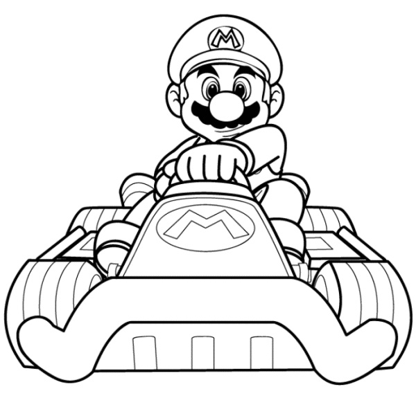 lago mario coloring pages - photo#31
